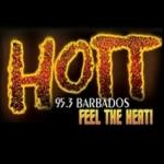 Logo da emissora Radio Hott 95.3 FM