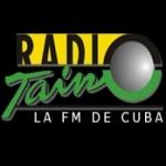 Logo da emissora Radio Taíno 93.3 FM