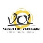 Logo da emissora Radio Voice of Life 90.7 FM
