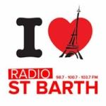 Logo da emissora Radio Saint Barth 100.7 FM