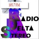 Logo da emissora Radio Delta Stereo 101.9 FM
