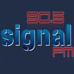 Logo da emissora Signal 90.5 FM