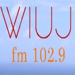 Logo da emissora WIUJ 102.9 FM