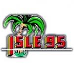 Logo da emissora WJKC Isle 95.1 FM