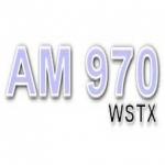 Logo da emissora WSTX 970 AM