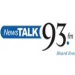 Logo da emissora NewsTalk 93 FM