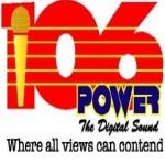 Logo da emissora Power 106.1 FM