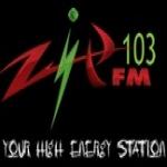 Logo da emissora Zip FM 103