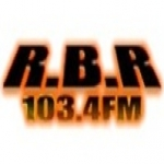 Logo da emissora RBR 103.4 FM