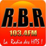 Logo da emissora Radio RBR 103.4 FM