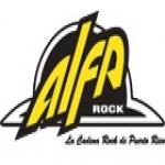 Logo da emissora WCAD Alfarock 105.7 FM