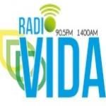 Logo da emissora WIDA Vida 90.5 FM