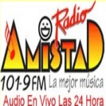 Logo da emissora Amistad 101.9 FM