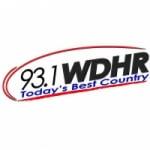 Logo da emissora Radio WDHR 93.1 FM