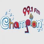 Logo da emissora Champion 99.1 FM