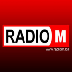 Logo da emissora Radio M 98.7 FM