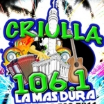 Logo da emissora Criolla 106.1 FM