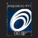 Logo da emissora Radio Espacio 96.9 FM