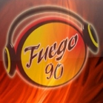 Logo da emissora Fuego 90 90.5 FM