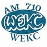 Logo da emissora Radio WEKC 710 AM