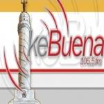 Logo da emissora Ke Buena 105.5 FM