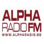 Logo da emissora Radio Alpha  91.7 FM