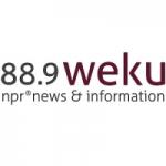 Logo da emissora Radio WEKU 88.9 FM