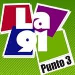 Logo da emissora Radio La 91.3 FM