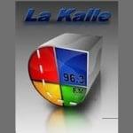 Logo da emissora Radio La Kalle 96.3 FM