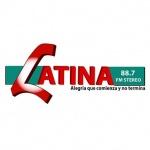 Logo da emissora Latina 88.7 FM