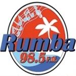 Logo da emissora Rumba 98.5 FM