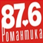 Logo da emissora Radio Romantika 87.6 FM