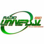 Logo da emissora Radio Universal 650 AM