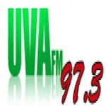 Logo da emissora Uva 97.3 FM