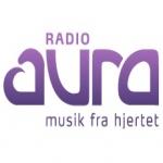 Logo da emissora Radio Aura 105.4 FM