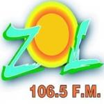 Logo da emissora Zol 106.5 FM
