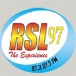 Logo da emissora RSL The Sun 97.7 FM