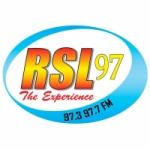Logo da emissora Radio St. Lucia RSL 97.3 FM