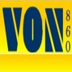Logo da emissora VON 860 AM