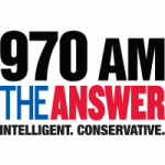 Logo da emissora Radio WGTK 970 The Answer AM