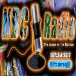 Logo da emissora NBC 107.5 FM