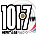 Logo da emissora Heritage Radio 101.7 FM