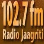 Logo da emissora Jaagriti 102.7 FM