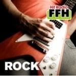 Logo da emissora FFH 105.9 FM Rock