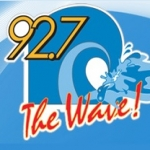 Logo da emissora Radio WHVE 92.7 The Wave FM