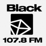 Logo da emissora Radio Black Diamond 107.8 FM