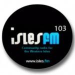 Logo da emissora Radio Isles 103 FM