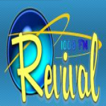 Logo da emissora Radio Revival 100 FM