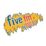 Logo da emissora Five 100.5 FM