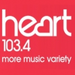Logo da emissora Heart Cheshire and N.E. Wales 103.4 FM